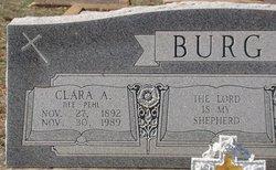 Clara A. <i>Pehl</i> Burg