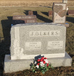 Therese <i>Siebels</i> Folkers