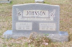Willie <i>Tullis</i> Johnson
