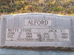 Betty Louise <i>Stone</i> Alford