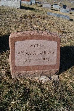 Anna Alfred <i>Fain</i> Barnes