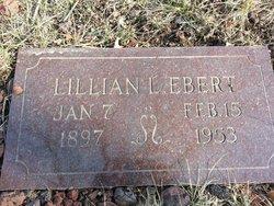 Lillian Lottie <i>Heidenreich</i> Ebert