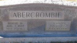 John Dee Abercrombie
