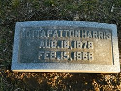 Lotta Patton Harris