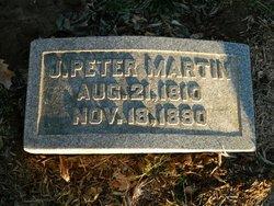 J Peter Martin