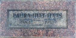 Laura <i>Hitt</i> Haas