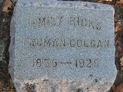 Emily Ricks <i>Truman</i> Colgan