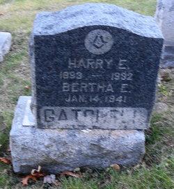 Bertha E Gatchell