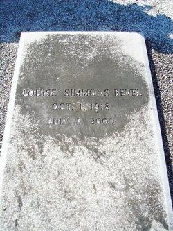 Louise <i>Simmons</i> Bevel