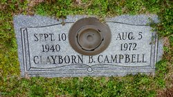 Clayborn B Campbell