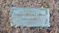 Dorothy Martha DeWolf