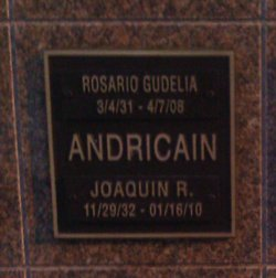 Rosario <i>Gudelia</i> Andricain