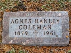 Agnes <i>Hanley</i> Coleman