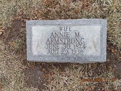 Annie M. <i>Wood</i> Armstrong