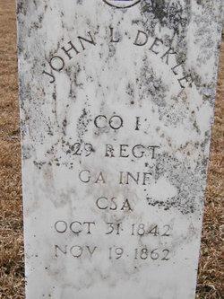 John Leonard Dekle
