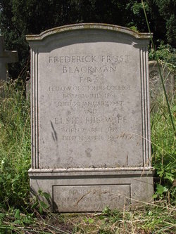 Frederick Frost Blackman