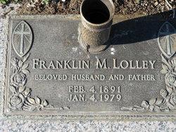 Franklin M. Lolley