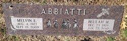 Melvin E Abbiatti