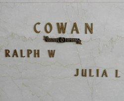 Ralph W. Cowan