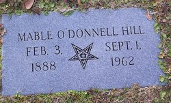 Mable <i>O'Donnell</i> Hill