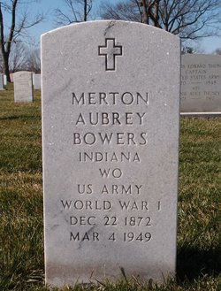 Merton Aubrey Bowers