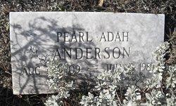 Pearl Adah <i>Brooks</i> Anderson