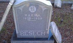 Mary Ann <i>Smith</i> Resech
