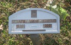 Mary <i>Maddox</i> Meredith