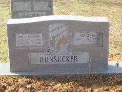 Rev Julian McCOY Hunsucker