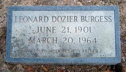 Leonard Dozier Burgess