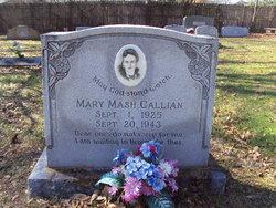 Mary <i>Mash</i> Gallian