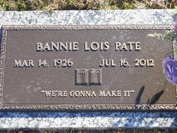 Bannie Lois Pate