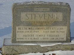 Bettie William <i>Hughes</i> Stevens