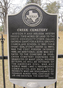 Creek Cemetery