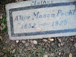 Alice M. <i>Mason</i> Pecht