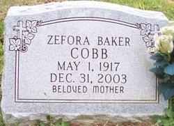Zefora Baker Cobb