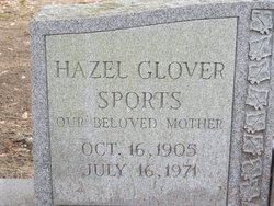 Hazel <i>Glover</i> Sports