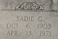 Sadie <i>Gilbert</i> Thomas