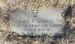 Emil F Golin