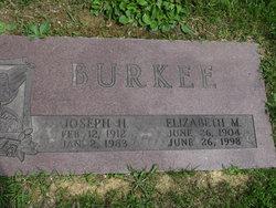 Elizabeth M <i>Lutter</i> Burkee