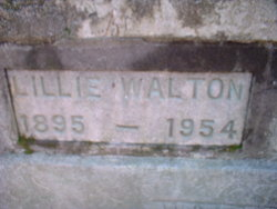 Lillie Walton