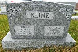 Esther Amelia <i>Koenig</i> Kline