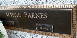 Mattie <i>Butler</i> Barnes