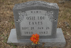 Osie Lou <i>Lewellen</i> Eaves