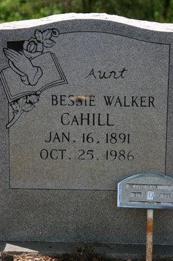 Bessie Walker Cahill