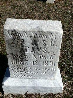 Infant Daughter Adams