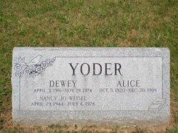 Alice <i>Kauffman</i> Yoder