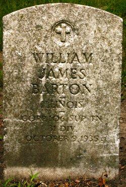 William James Barton