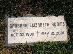 Barbara Elizabeth Adams
