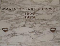 Maria DelRio <i>Del Rio</i> DeHamel